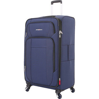 "SwissGear Travel Gear 6373 29"" Expandable Spinner Softside Checked NEW"