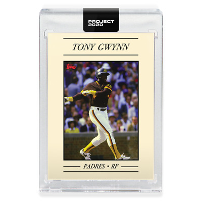 Topps PROJECT 2020 Card #16 Tony Gwynn by Oldmanalan Padres Pre-Sell