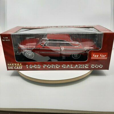 Sun Star	1963 Ford	Galaxie 500 RED 1/18 scale