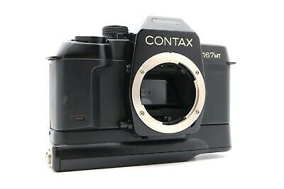 <NEAR MINT> CONTAX SLR 167MT 35mm Film camera Body Only from Japan #480