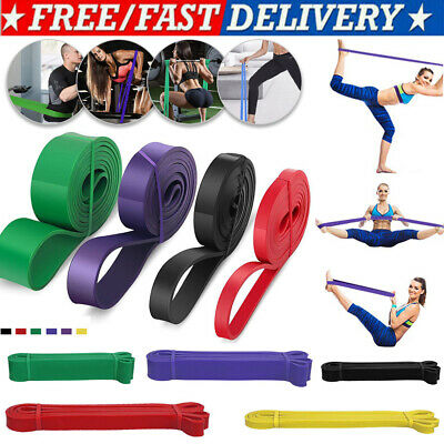 Fitness Resistance Bands Assisted Pull Up Band Power Lifting Exercise Latex Band