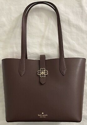 New Women's Kate Spade New York WKRU6287Z Kaci Small Leather Tote: