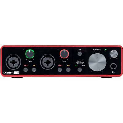 FOCUSRITE SCARLETT 2i2 3RD GEN Interfaccia audio USB C 2-in, 2-out