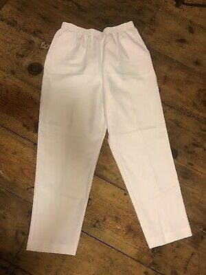 Womens Size 18s White DonnKenny Pants