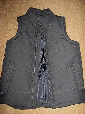 Size 9 Navy blue vest boys clothes double lined for extra warmth