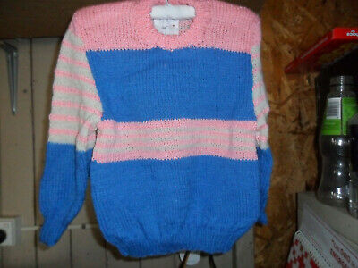 Hand Knitted child's Jumper