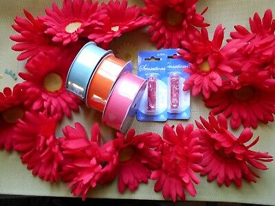 Bulk Lot Craft Beads and Ribbons  2