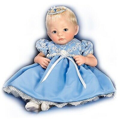 Ashton Drake Rose - Signature Collection Porcelain Doll By Dianna Effner 46cm