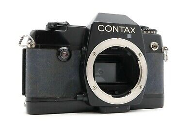 <Excellent> CONTAX SLR 137 MA QUARTZ 35mm Body Only Film camera from Japan #484
