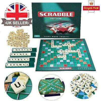 Family Scrabble Board Game Family Kids Adults Educational Toys Puzzle Game UK