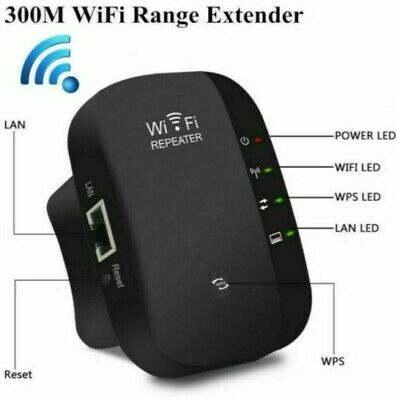 Wifi Signal Booster Wireless Home Reliable Amplifier Internet 300Mbps