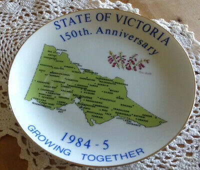 "Westminster Collection ""Victoria State Plate "" 150 Th Year Anniversary."