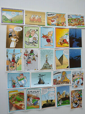 23 stickers BD ASTERIX  OBELIX / Magasin Carrefour - Panini -