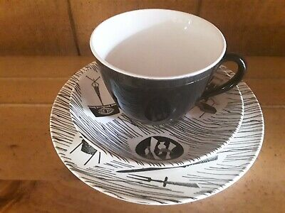 Rydway potteries 'Homemaker' trio - cup saucer side plate