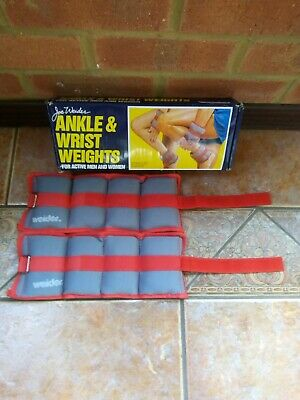 Joe Weider Ankle And Wrist Weights, 1 Pair, Boxed .