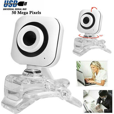 Digital USB Web Cam Camera HD Clip Video Calling Teleconference Camera For PC UK