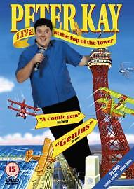 Peter Kay: Live at the Top of the Tower DVD (2004) Peter Kay cert 15 Great Value