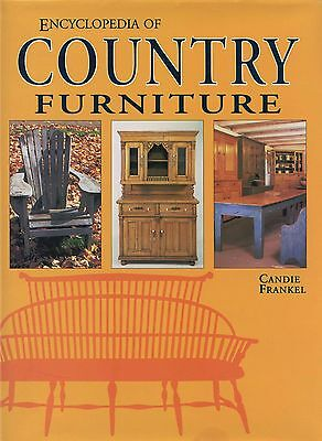 Encyclopedia Antique Country Furniture- Types Styles Origins / Scarce Book