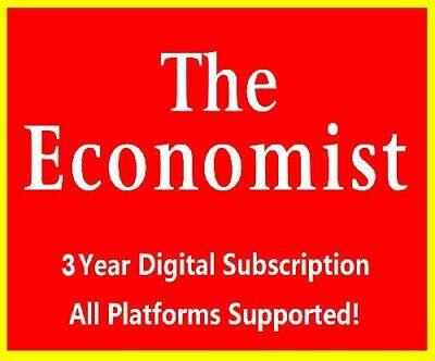The Economist 3 Years Digital Subscription Account All Platforms Supported