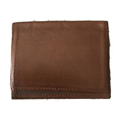 New Leather Business Card Holder Brown