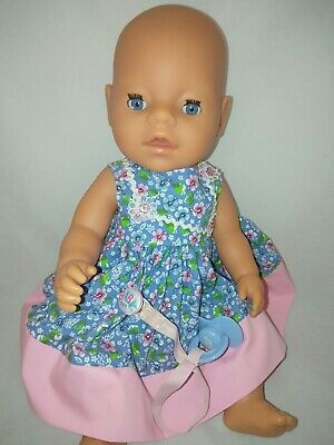 Zapf Creations Magic Eyes Baby Born Doll Drinks and Wets