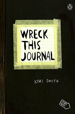 WRECK THIS JOURNAL (BLACK) EXPANDED EDITION By Keri Smith