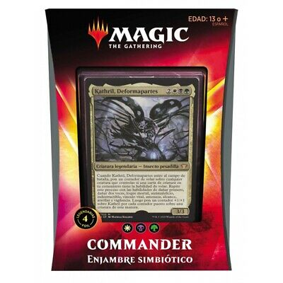 Magic Commander Ikoria, Enjambre Simbiótico Deck (Castellano)