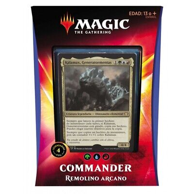 Magic Commander Ikoria, Remolino Arcano Deck (Castellano)