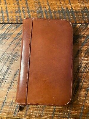 Coach Leather Planner