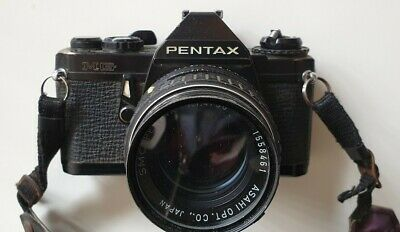 Pentax MG black with lens pentax asahi 50mm f1.4 in Very Good cond