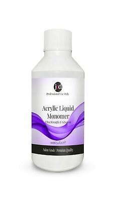 Acrylic Liquid Monomer Professional Salon Quality False Nails Extensions 100ml