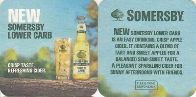 Somersby Low Carb Apple Cider Coaster - Beer Mat