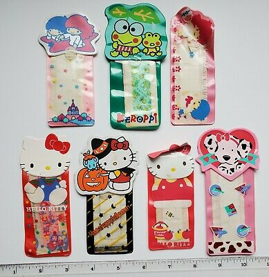 Vintage Sanrio Bandaid Lot of 7 Bandages 1980's-1990's Hello Kitty, Twin Stars