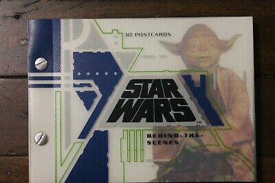 Star Wars Book of 30 Poatcards like new from 1995