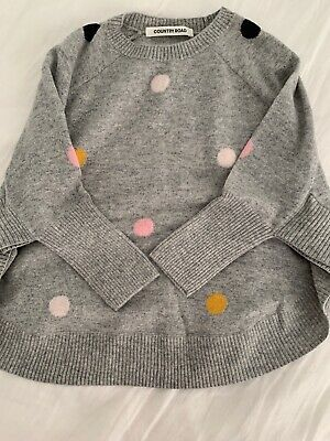 Country Road Girls Knit Size S (2-4years)
