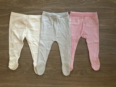 Purebaby Knitted Footed Leggings