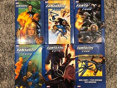 Ultimate Fantastic Four Oversized Hardcover Collection: Vol. 1-6 (Marvel HC OOP)