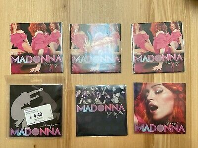 Madonna Lot Hung Up Sorry Get Together Jump CD Single Europe France Confessions