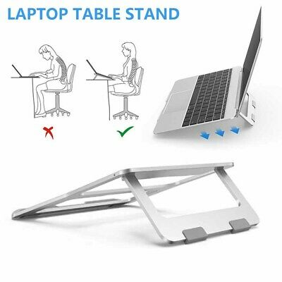 Adjustable Laptop Stand Table Fold Desk Bed Tray Sofa Computer Study Portable