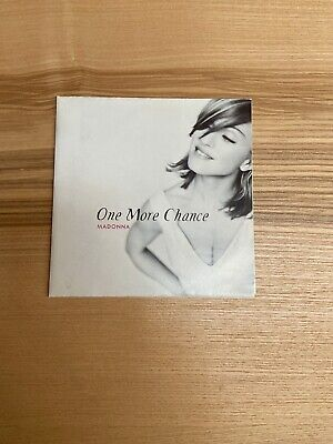 Madonna One More Chance CD Single Cardlsleeve
