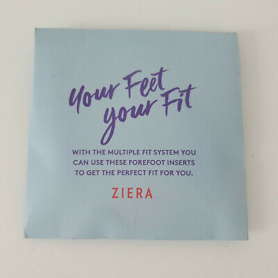 'Ziera' ' Your Feet, Your Fit' 2 Size Inserts To Manage Shoes Sizing