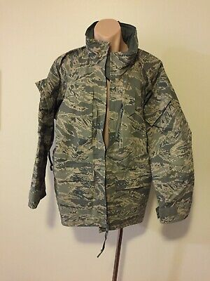 USAF TIGER STRIPE'  AWACS PARKA' Current Issue' (RARE) + Issue Cap'