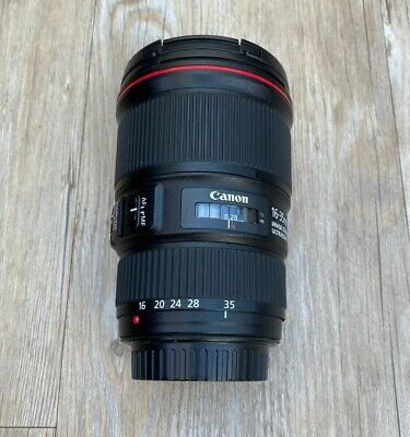 Canon EF 16-35 mm F/4 L IS USM Lens (Excellent Condition
