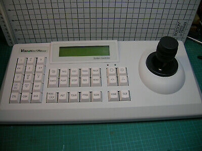 VisiontechPro Security  System Camera Controller Keyboard Model VSCJ1