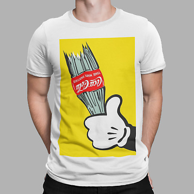 Mickey Hands Naughty Disobey Tumblr Swag Joke Funny Cool Humour Gift T Shirt