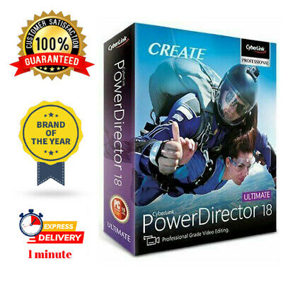CyberLink PowerDirector Ultimate 18 🔥Lifetime License ✅  Fast Delivery  ⚡