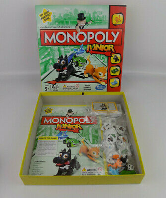 Monopoly Junior Board Game by Hasbro Gaming ( Complete Family Kids First )