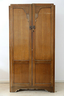 Antique 20th Century Gentleman's Wardrobe