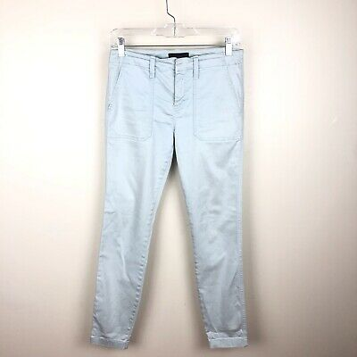 J. Crew Women's Skinny Stretch Cargo Pants Size 26 Ankle Slim