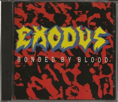 Exodus Bonded By Blood Cd Mint/New! Paypal!